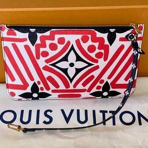 Louis Vuitton Monogram crafty red